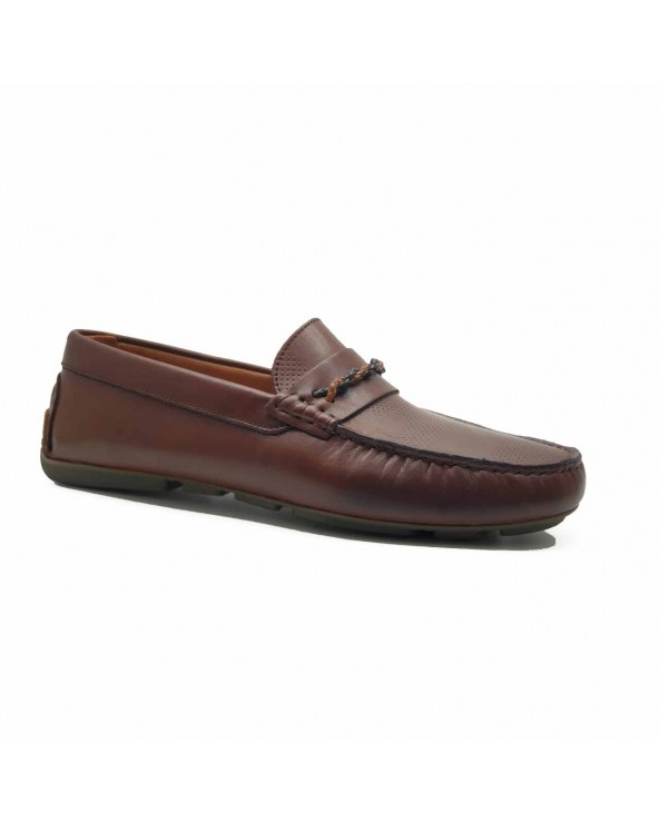 Mocassins Cuir - Marron