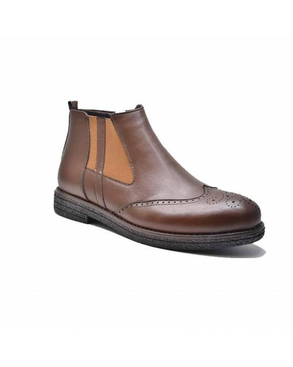 Boots derby avec bande