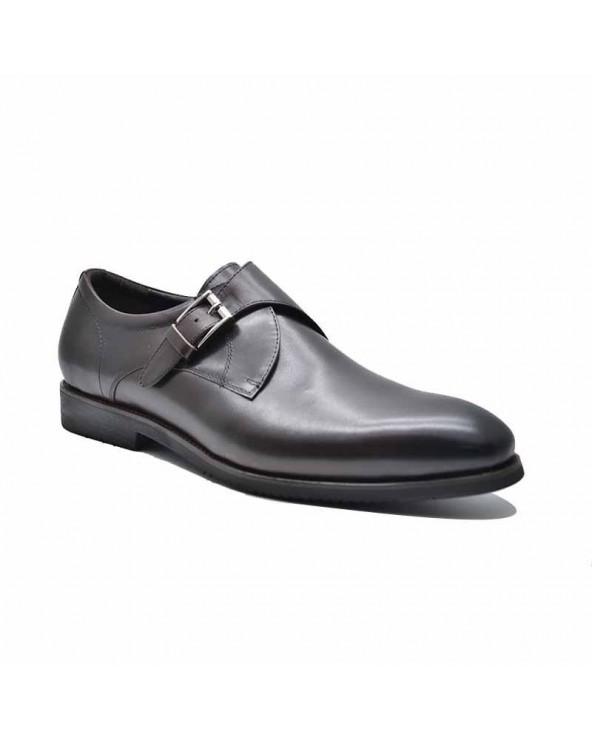Chaussures derby cuir avec...